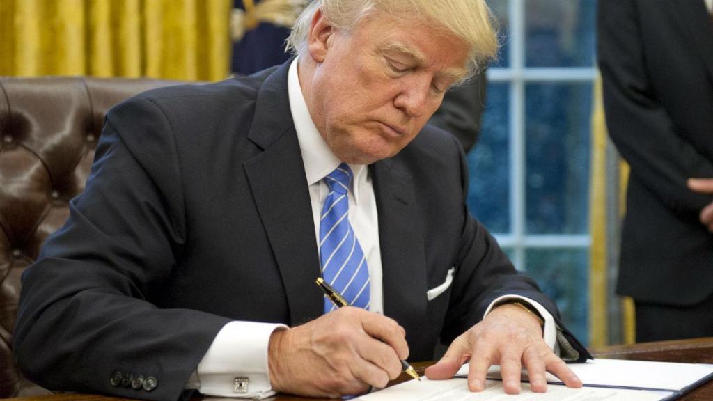 Donald Trump reativa a regra