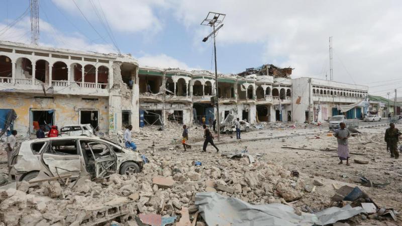 Ataque a hotel em Mogadíscio