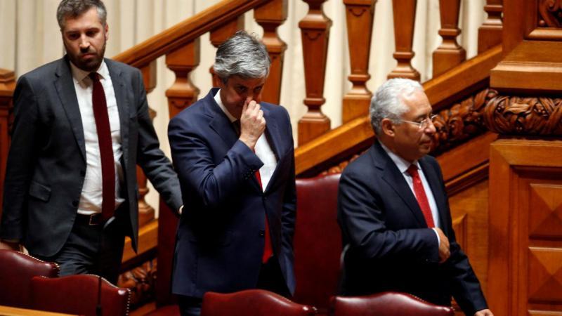 Pedro Nuno Santos, Mário Centeno e António Costa