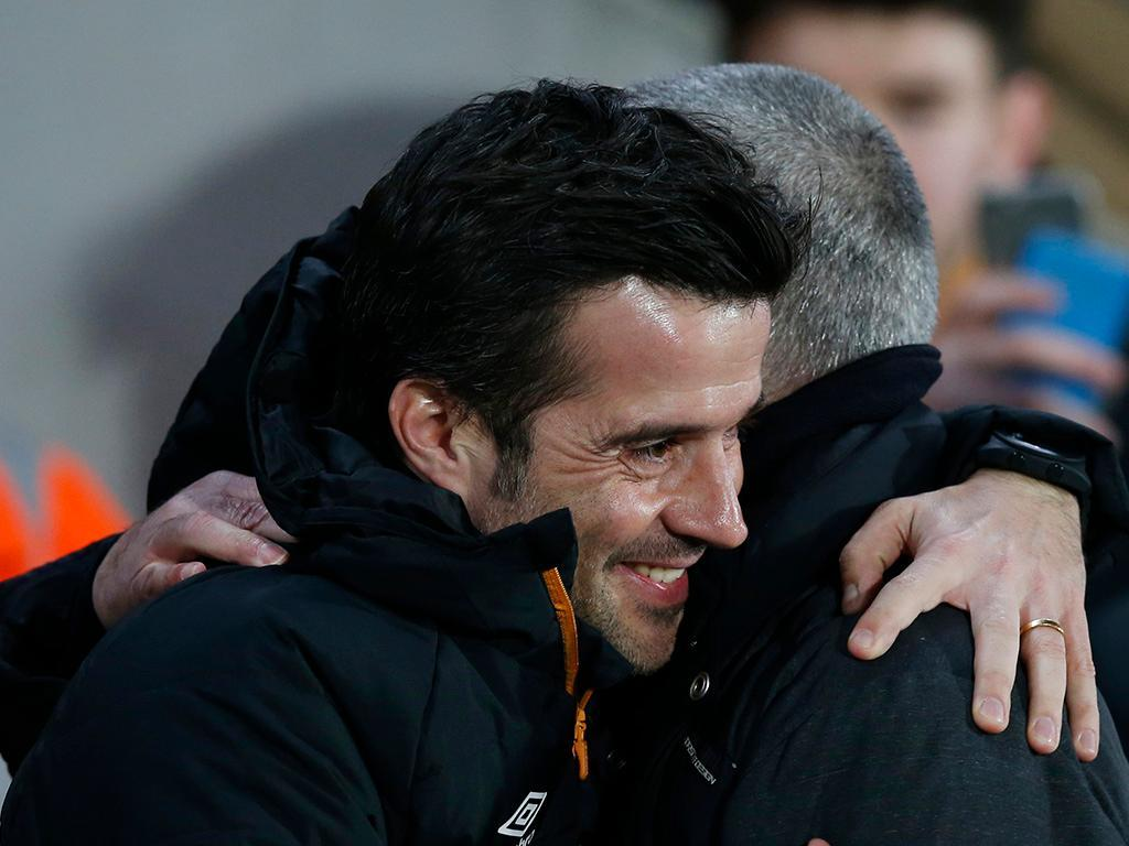 Mourinho e Marco Silva (Reuters)