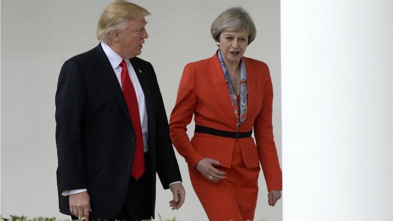 Donald Trump e Theresa May