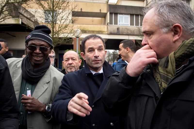 Benoît Hamon - candidato socialista às presidenciais em França