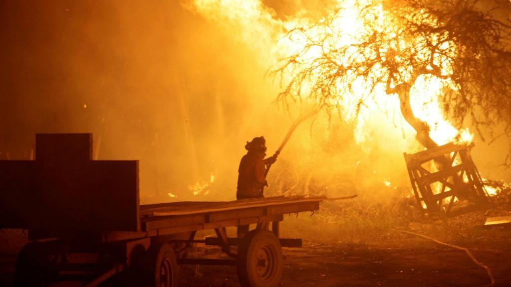 Incêndios consomem centenas de milhares de hectares