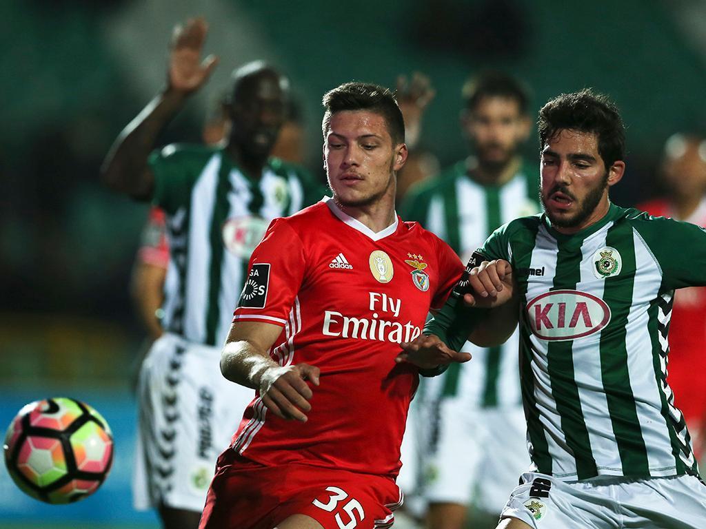Vitória Setúbal-Benfica (Lusa)