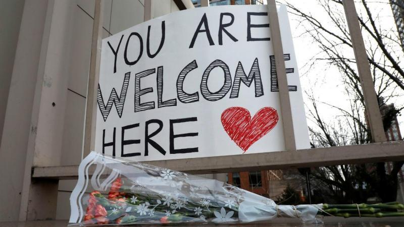 Protestos contra política anti-imigração de Trump, no Canadá