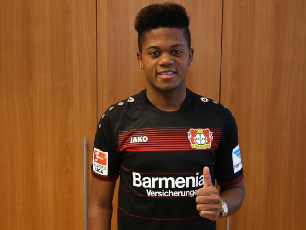 Leon Bailey (foto: Bayer Leverkusen)