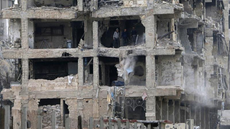 Viver em Alepo