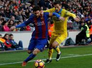 Hélder Lopes e Messi (Reuters)