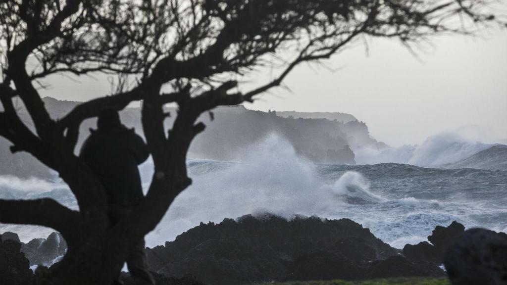 Mau tempo nos Açores