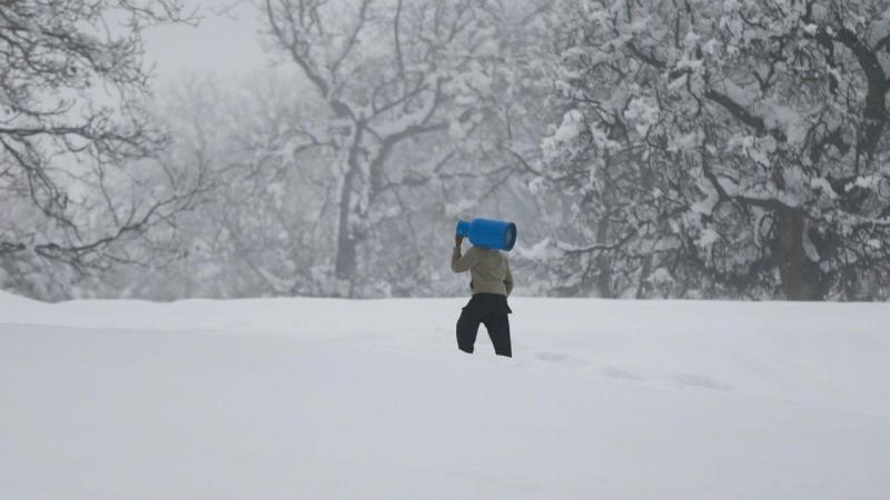 Neve no Afeganistão