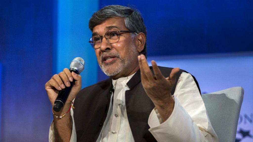 Kailash Satyarthi, galardoado com o Nobel da Paz