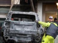 Adeptos incendeiam carro do presidente do Pescara