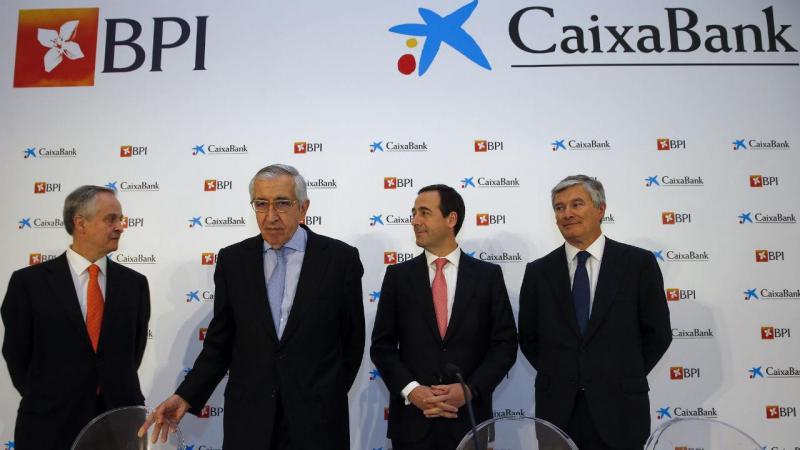Fernando Ulrich, Artur Santos Silva, Gonzalo Gortázar e Pablo Forero