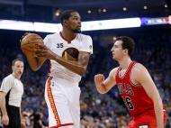 Golden State Warriors-Chicago Bulls (Reuters)