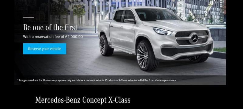 Mercedes-Benx Classe X
