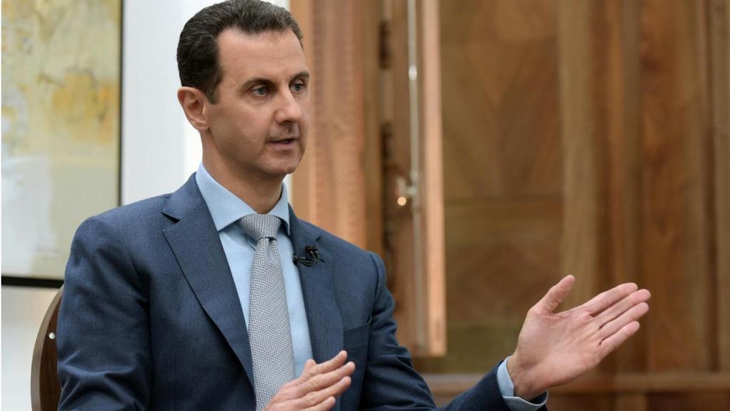 Bashar al Assad - entrevista com Yahoo News