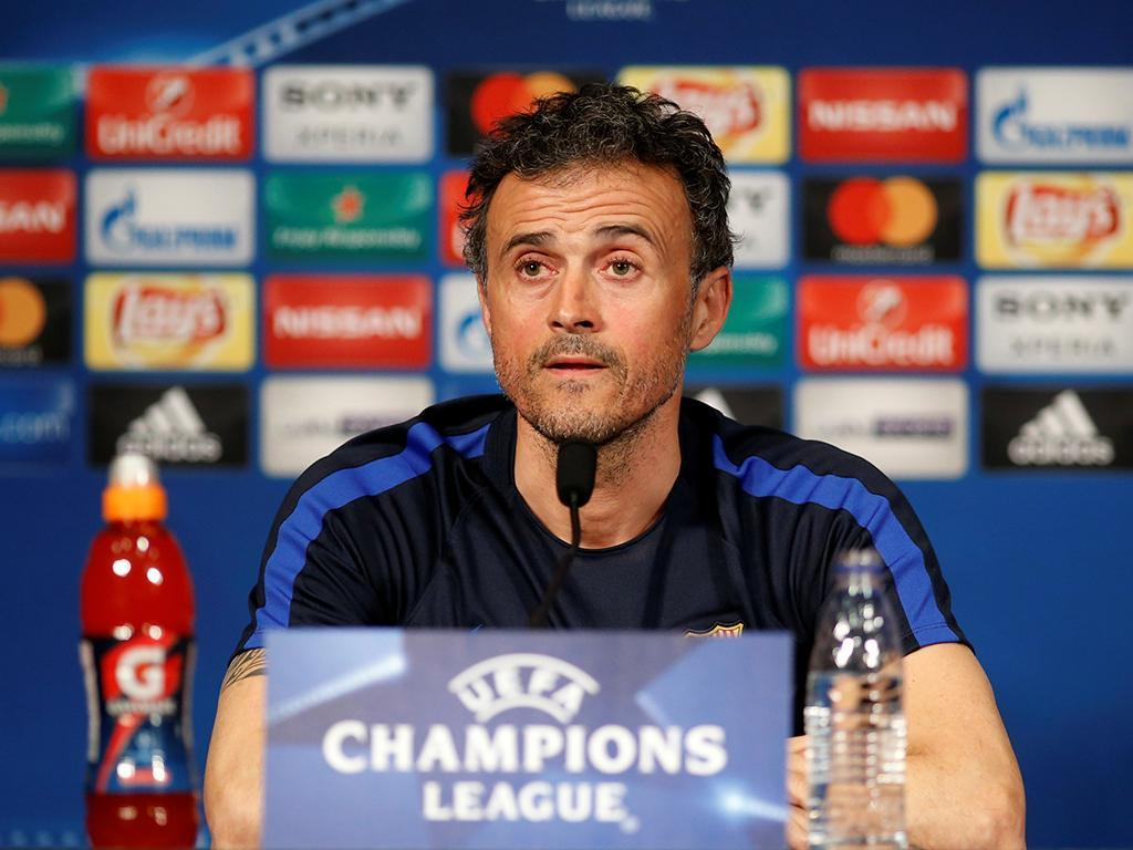 Luis Enrique (Reuters)