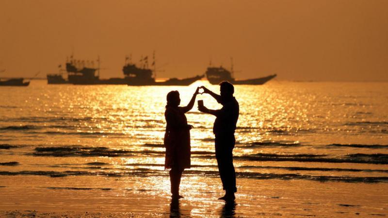 Dia dos namorados na Índia
