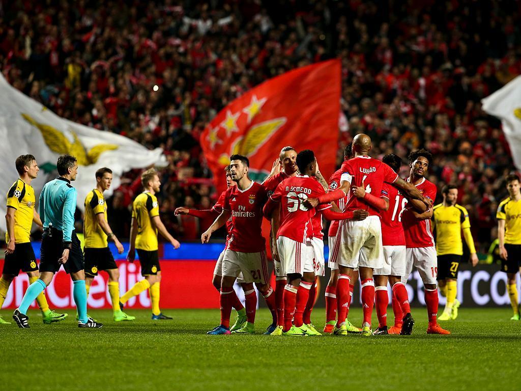 Benfica-Dortmund (Lusa)