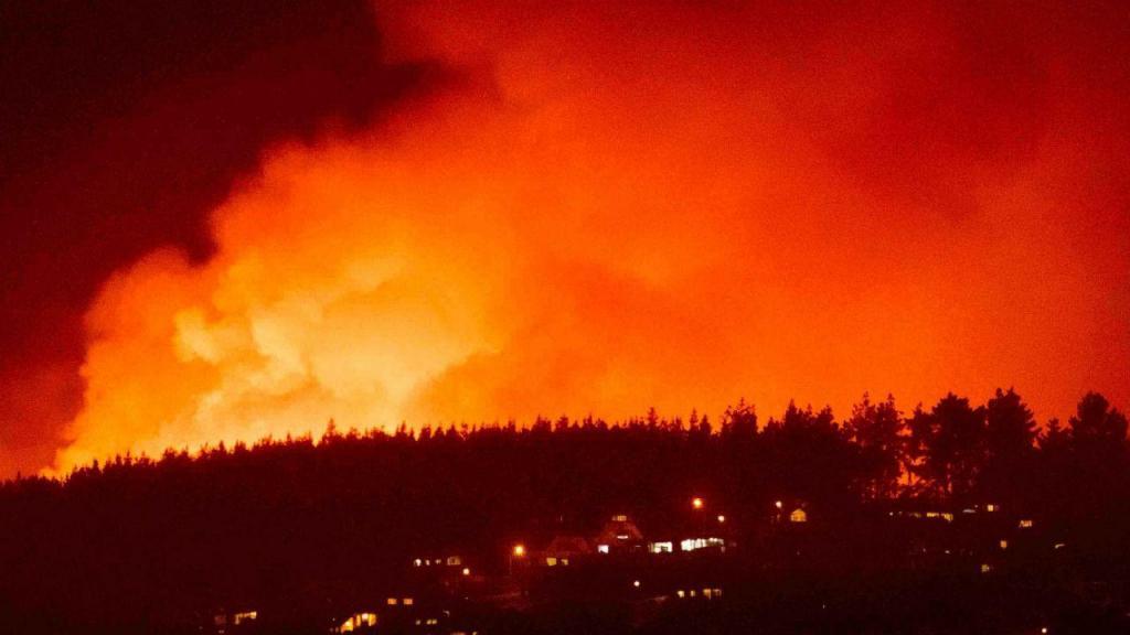Incêndios na Nova Zelândia