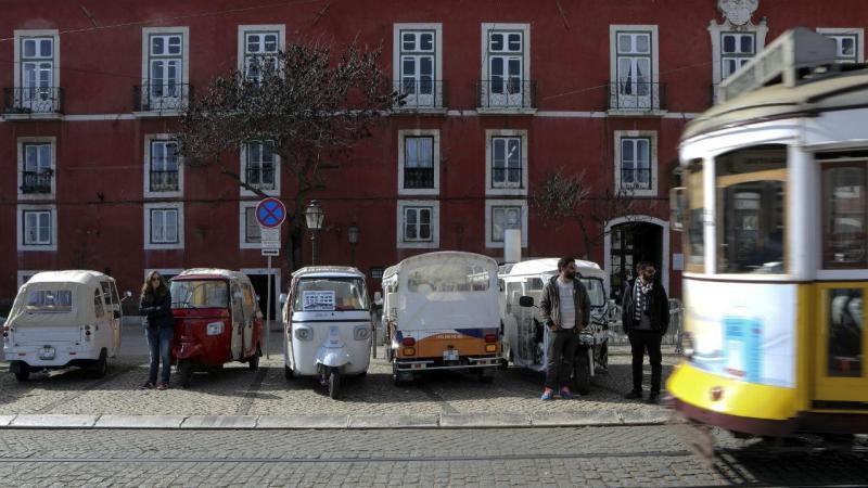 Tuk Tuk em Lisboa