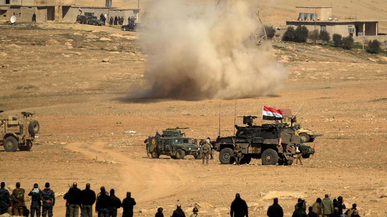 Tropas iraquianas tentam reconquistar toda a cidade de Mossul