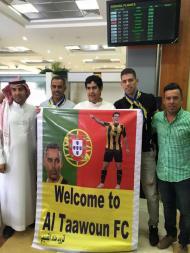 Ricardo Machado na Arábia Saudita