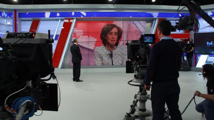Marcelo Rebelo de Sousa no novo Jornal das 8