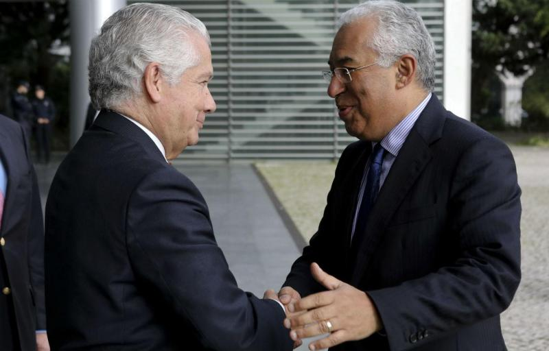 António Saraiva e António Costa