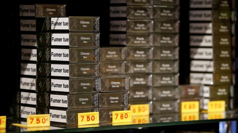Maços de tabaco descaracterizados