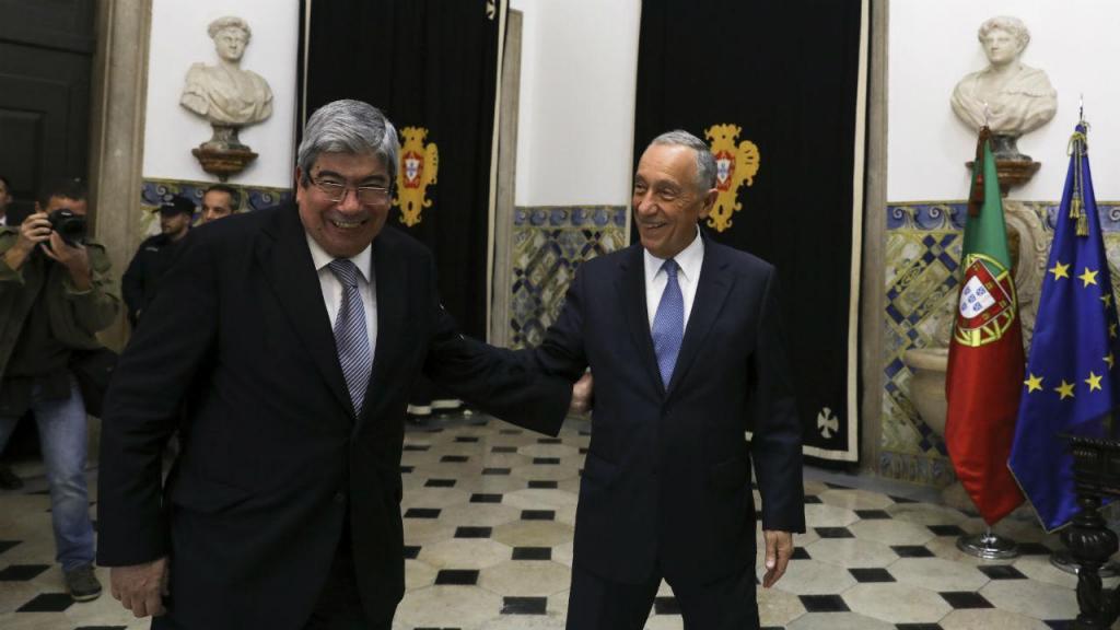 Ferro Rodrigues e Marcelo Rebelo de Sousa