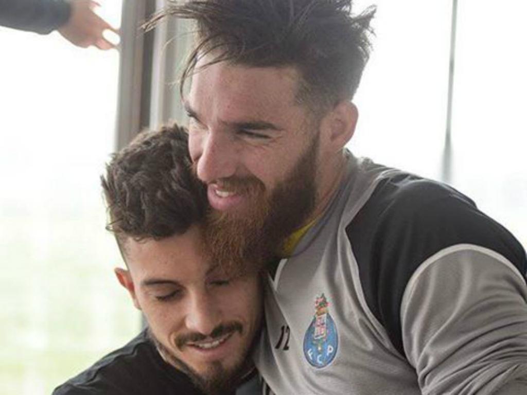 José Sá e Alex Telles