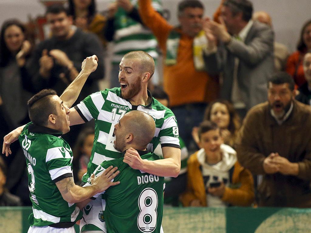 Futsal  Sporting goleia Fundão e vence Taça da Liga  6c69ae80243e9