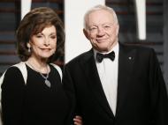 Jerry Jones (dono dos Dallas Cowboys/NFL) e a esposa