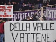 Fiorentina de Paulo Sousa empata entre protestos nas bancadas