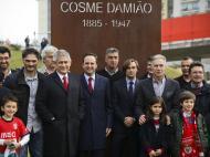 Benfica: homenagem a Cosme Damião em dia de aniversário