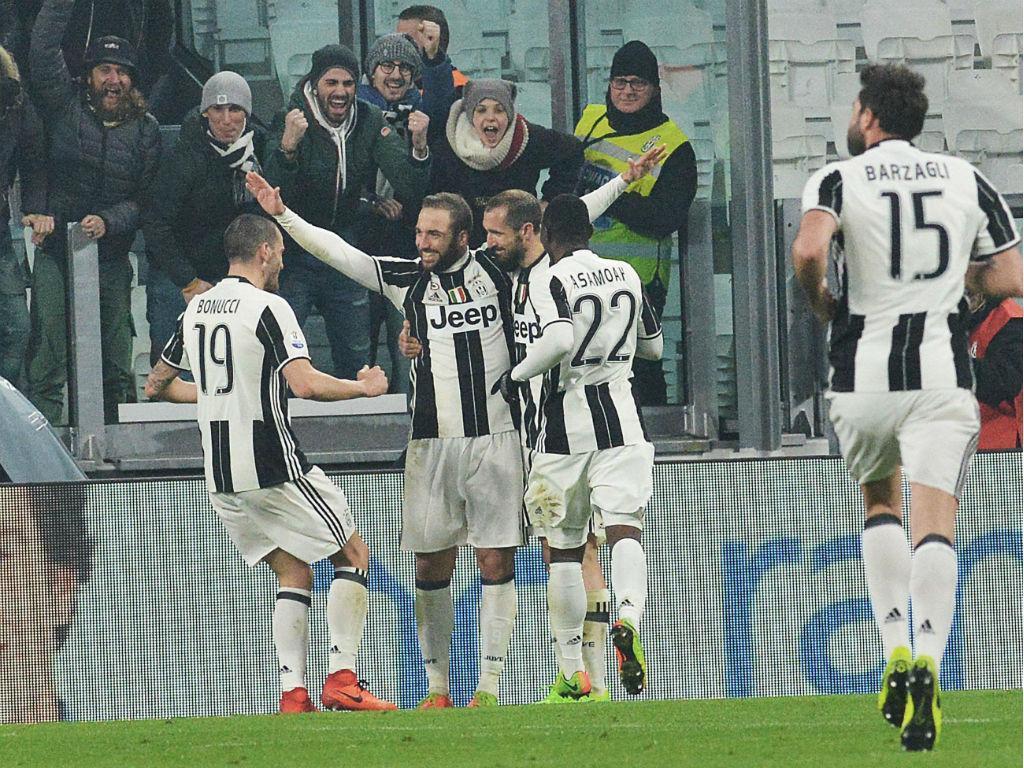 Juventus-Nápoles (Alessandro di Marco/EPA)