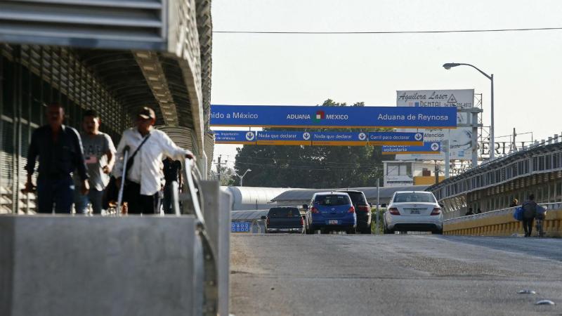 Operação das forças de segurança dos EUA junto à fronteira com o México