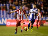 Deportivo Corunha-Atlético Madrid (Reuters)