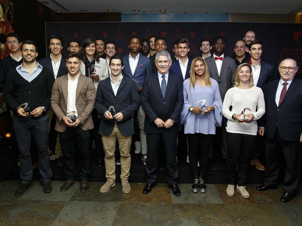 Nomeados aos galardões Cosme Damião (foto: SL Benfica)