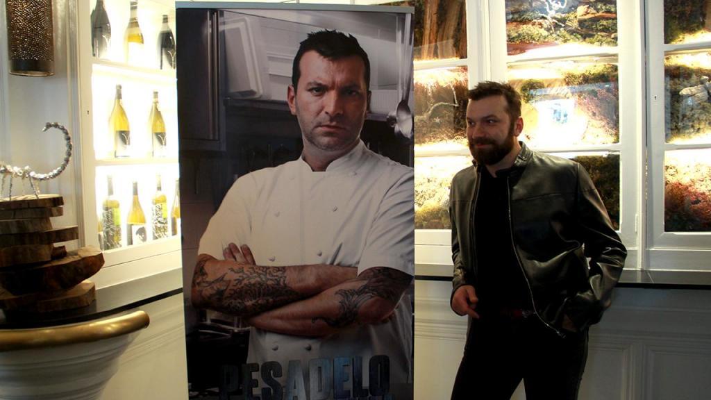 Ljubomir Stanisic na apresentação do «Pesadelo na Cozinha» (Foto: Masha Cohen / MCD»