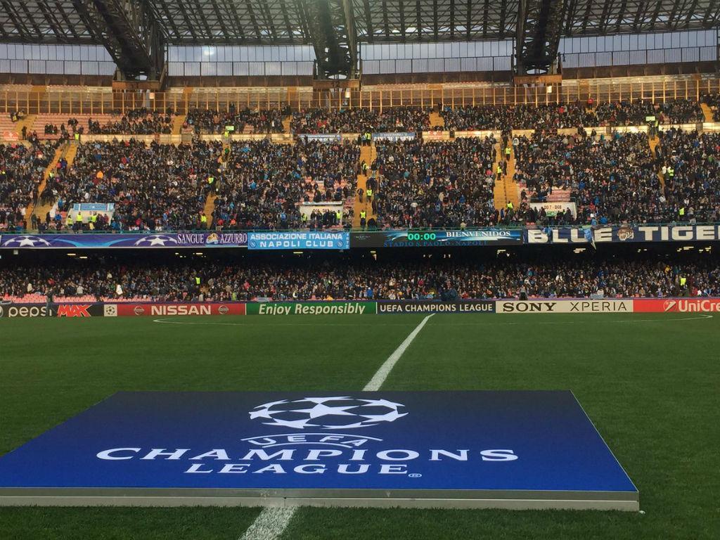 Estádio San Paolo a quatro horas do Nápoles-Real (foto: Nápoles)