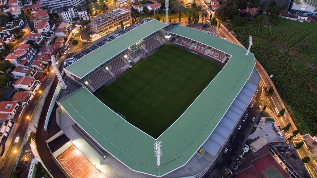 6º Estádio do Marítimo. Média na Liga 2016/17: 7.421 espectadores.
