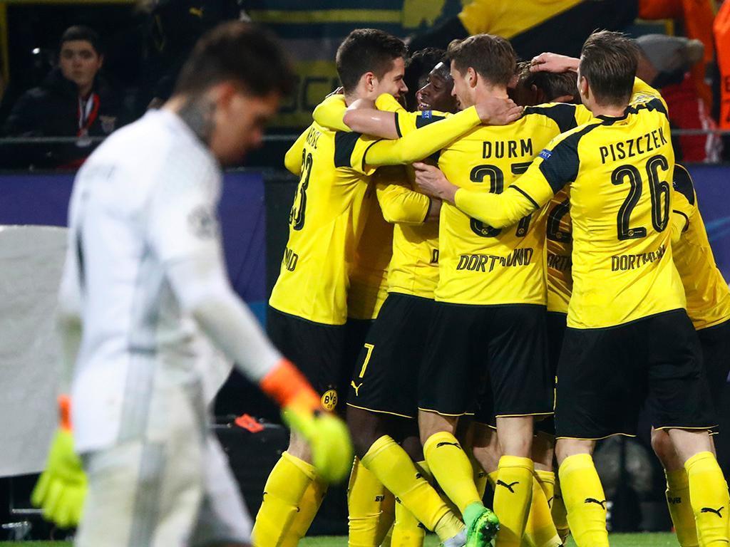 Dortmund-Benfica (Reuters)