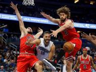 Orlando Magic-Chicago Bulls (Reuters)