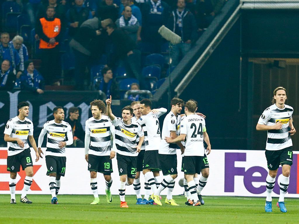 Schalke-Monchengladbach (Reuters)