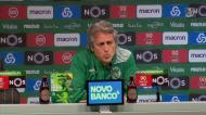 A reação de Jesus aos 4-0 do Benfica em Dortmund
