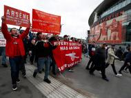 Protesto Wenger (Reuters)