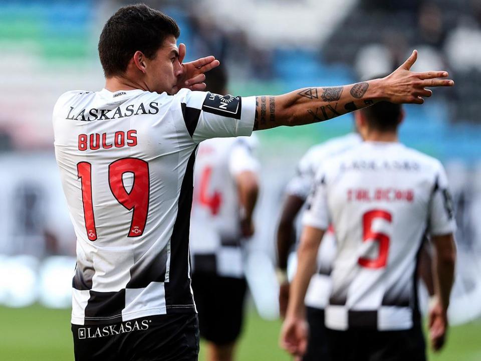 OFICIAL: Boavista anuncia empréstimo de Bulos ao Hajduk Split