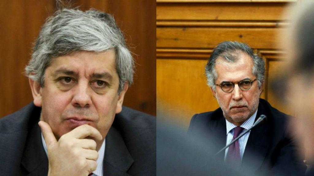 Mário Centeno e António Domingues